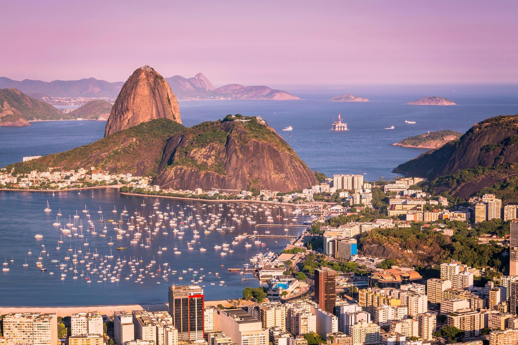 Rio de Janeiro, in Brazil, is hot in January