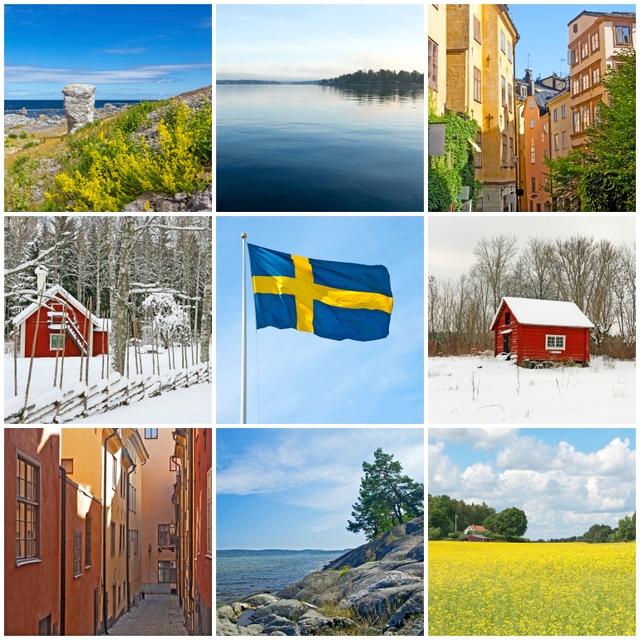 Urlaubsstimmung: Schweden