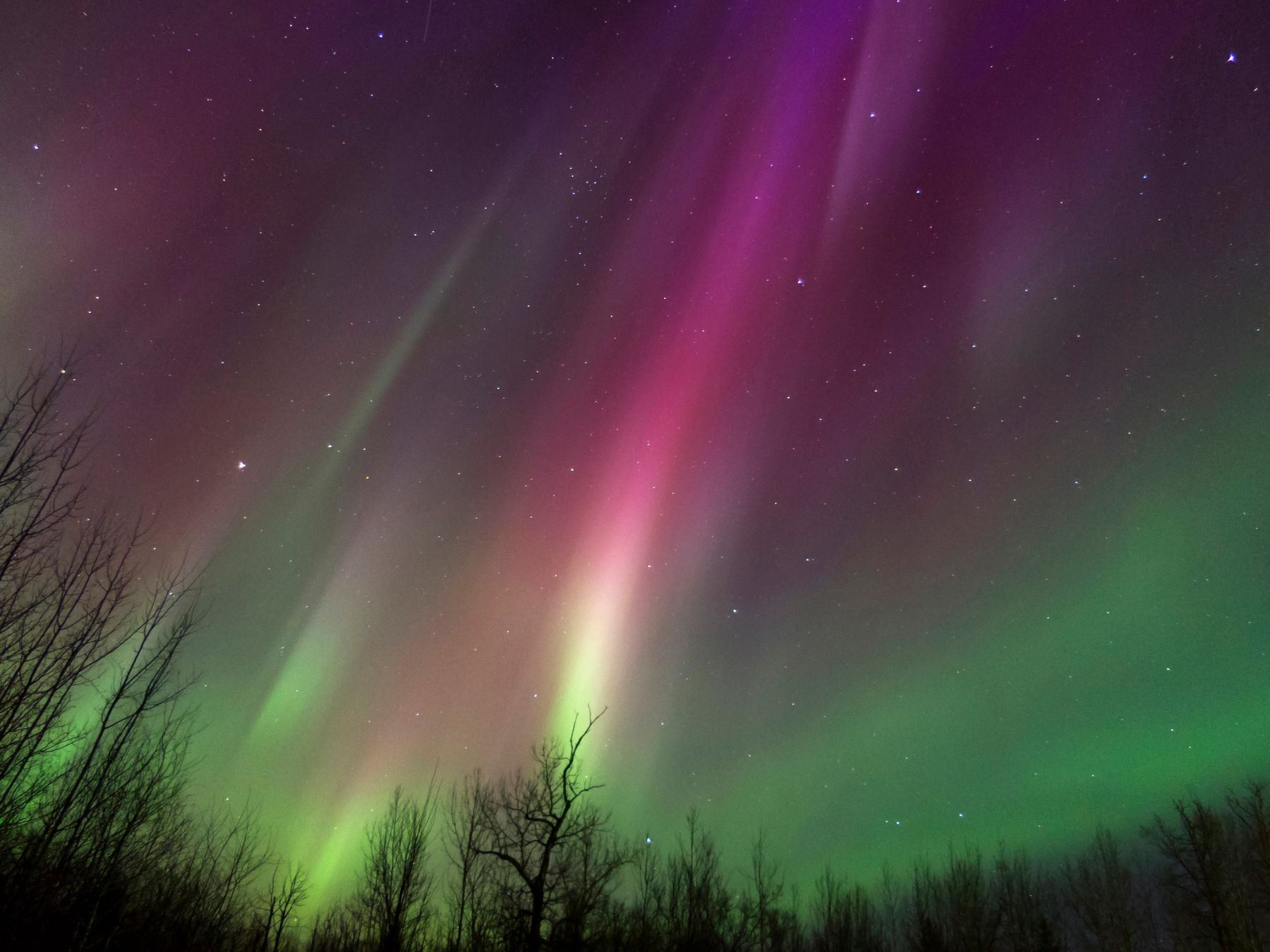 October is a great time to experience the Northern Lights