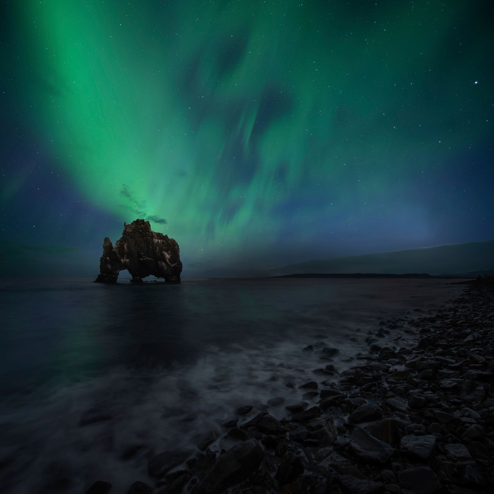 Catch the Northern Lights in Iceland