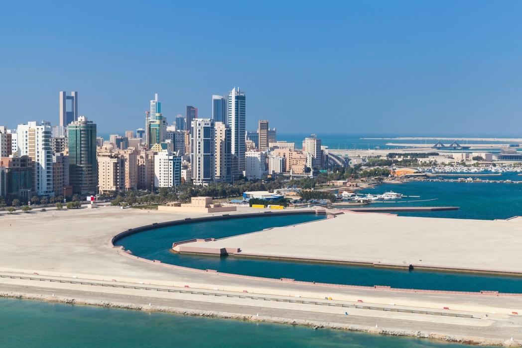 Πανόραμα στο αστικό τοπίο της Μανάμα, Μπαχρέιν - city-hopping στις πόλεις του κόσμου