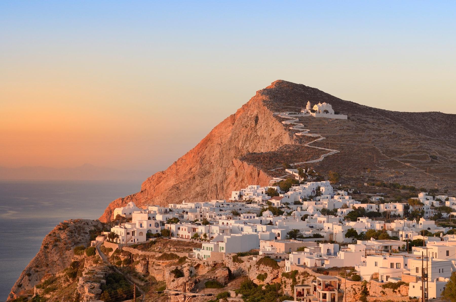 Wyspy greckie: Folegandros