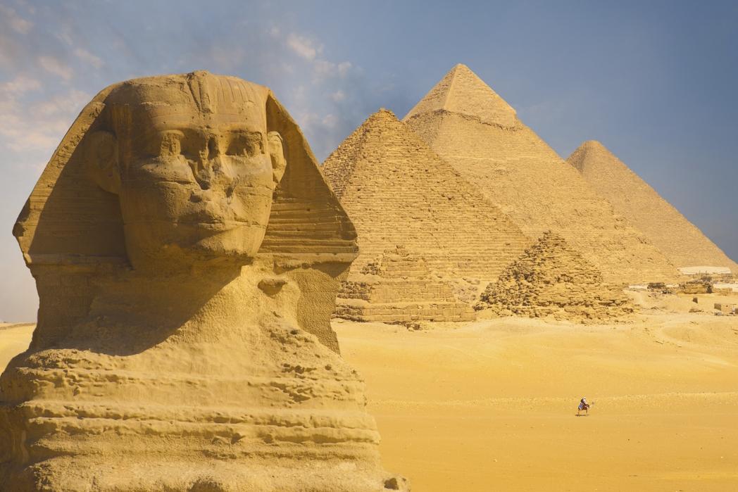 Egitto, Sfinge e piramidi