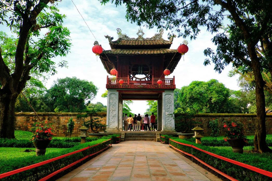 Ο Ναός της Λογοτεχνίας στο Ανόι - ταξίδι στο Βιετνάμ