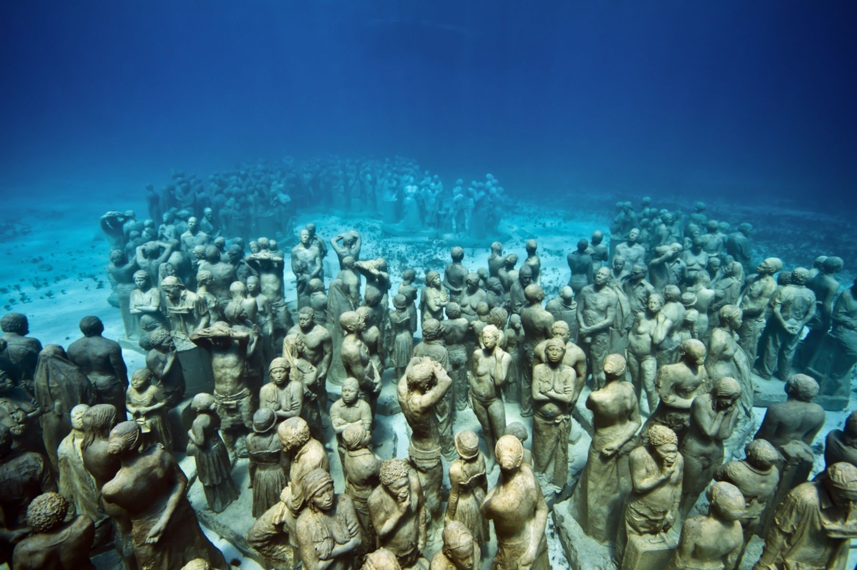 Подводный музей MUSA, Канкун, Мексика