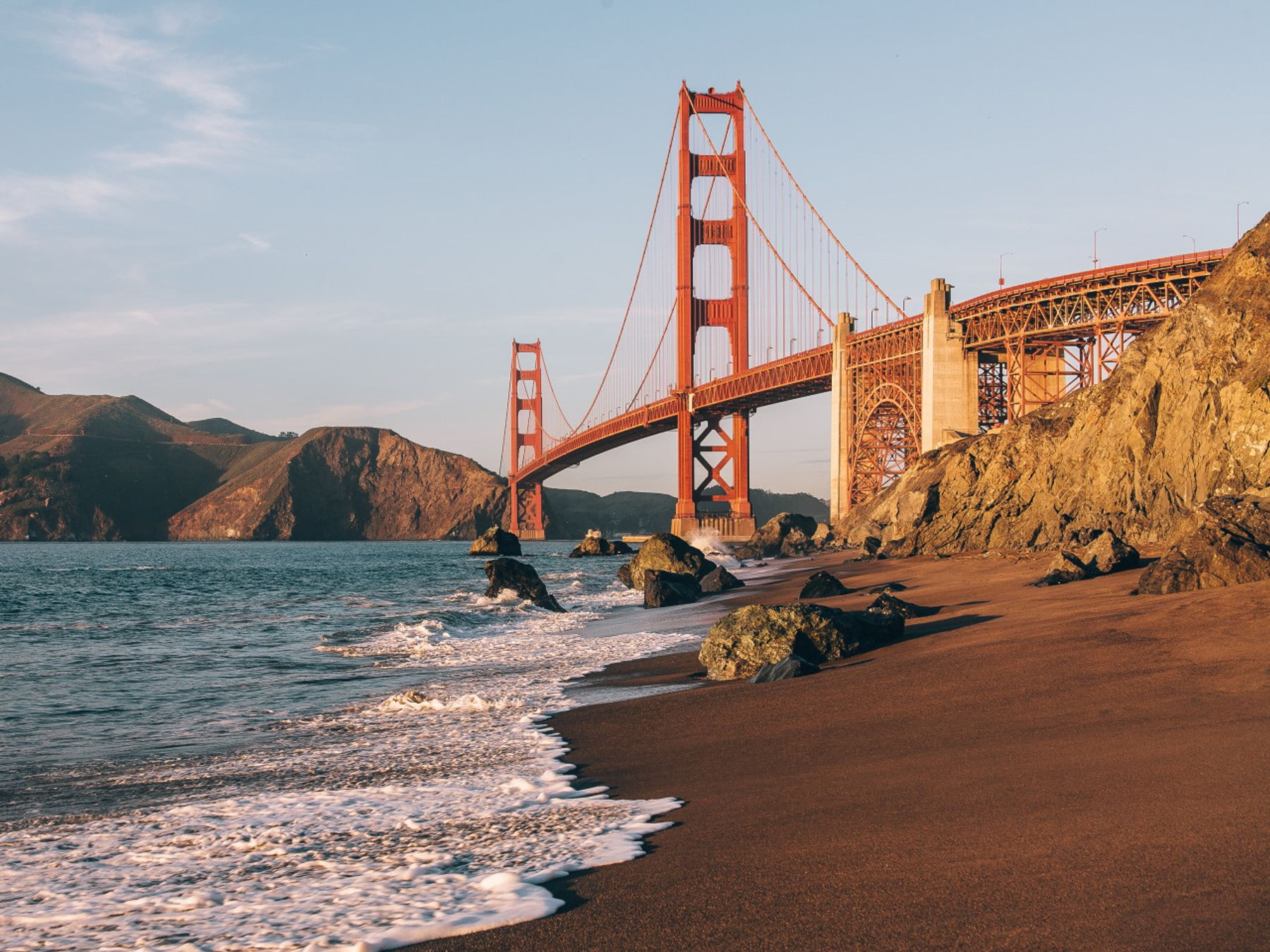 The National Parks Pass secures access to the Golden Gate National Recreation Area pictured here.