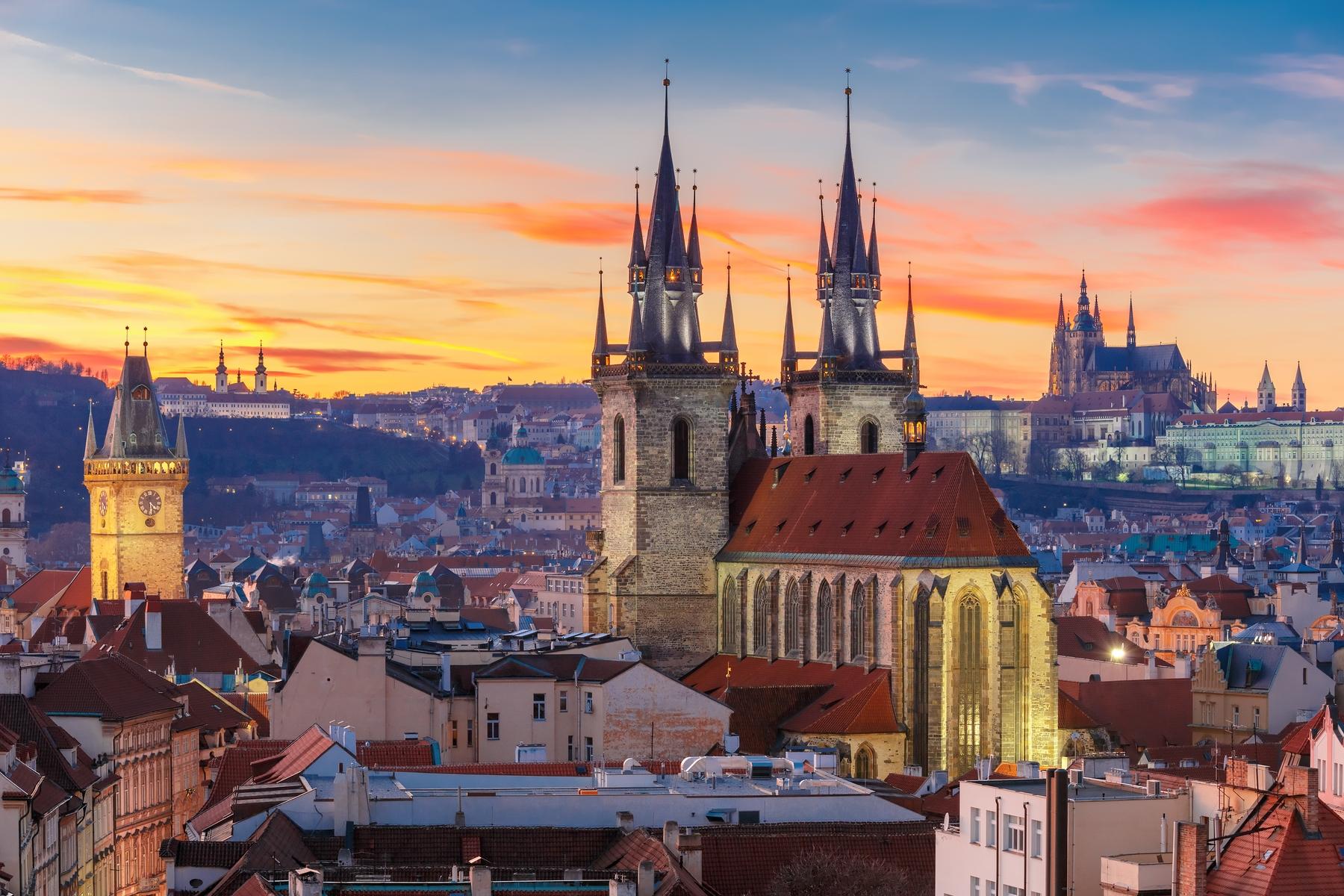Исторический центр Праги — настоящая машина времени. Чехия — одно из лучших направлений для первой поездки за границу