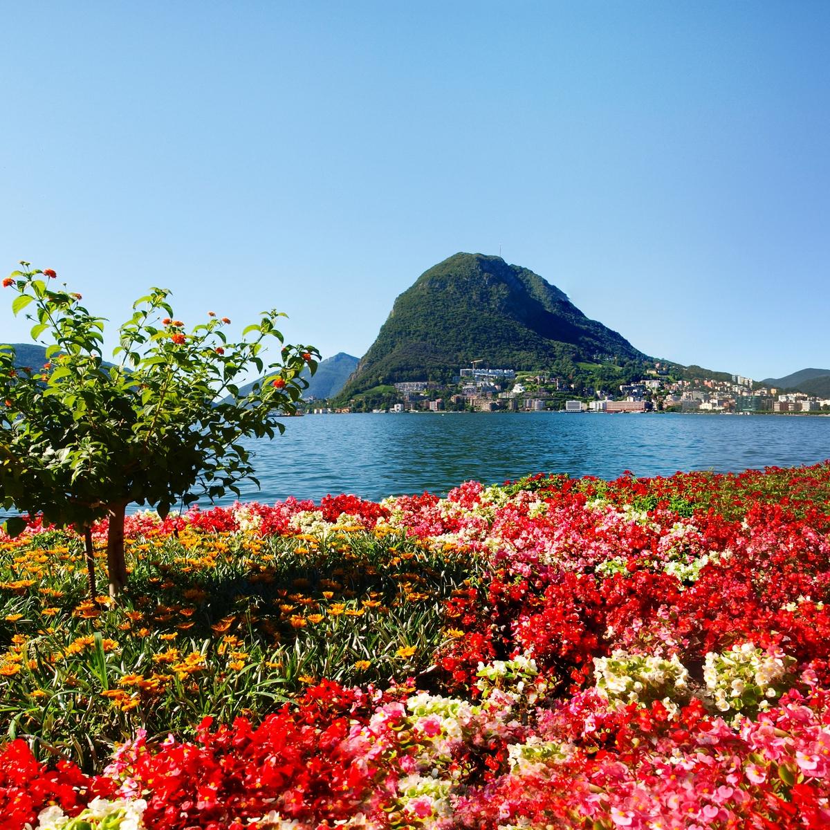 Die schönsten Orte in den Schweizer Alpen: Lugano, Tessin
