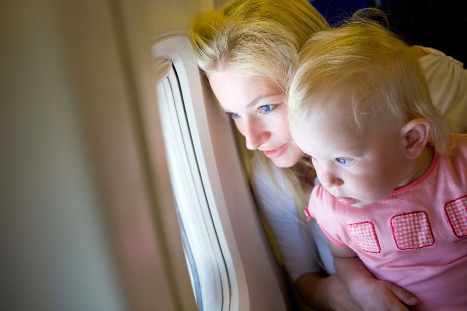 Infant on a plane - find out all about the charges and regulations for baby travel