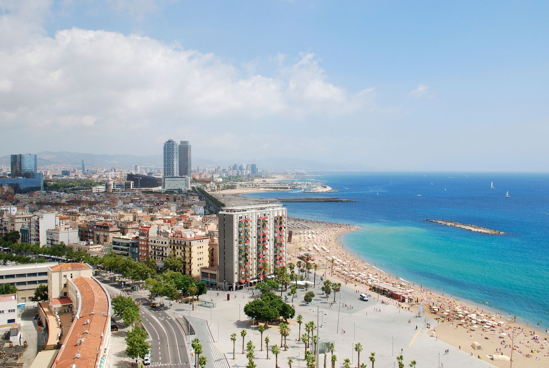 Barcelona is perfect for a city, beach and spa break