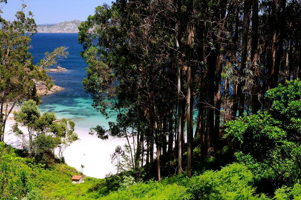 H low-profile παραλία Figueiras στα νησιά Θίες - ταξίδι περιπέτειας στη Γαλικία