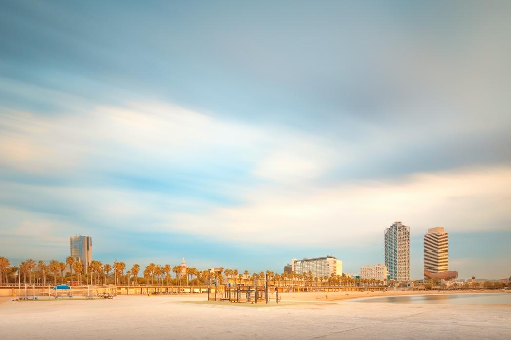 Spiagge a Barcellona: Barceloneta