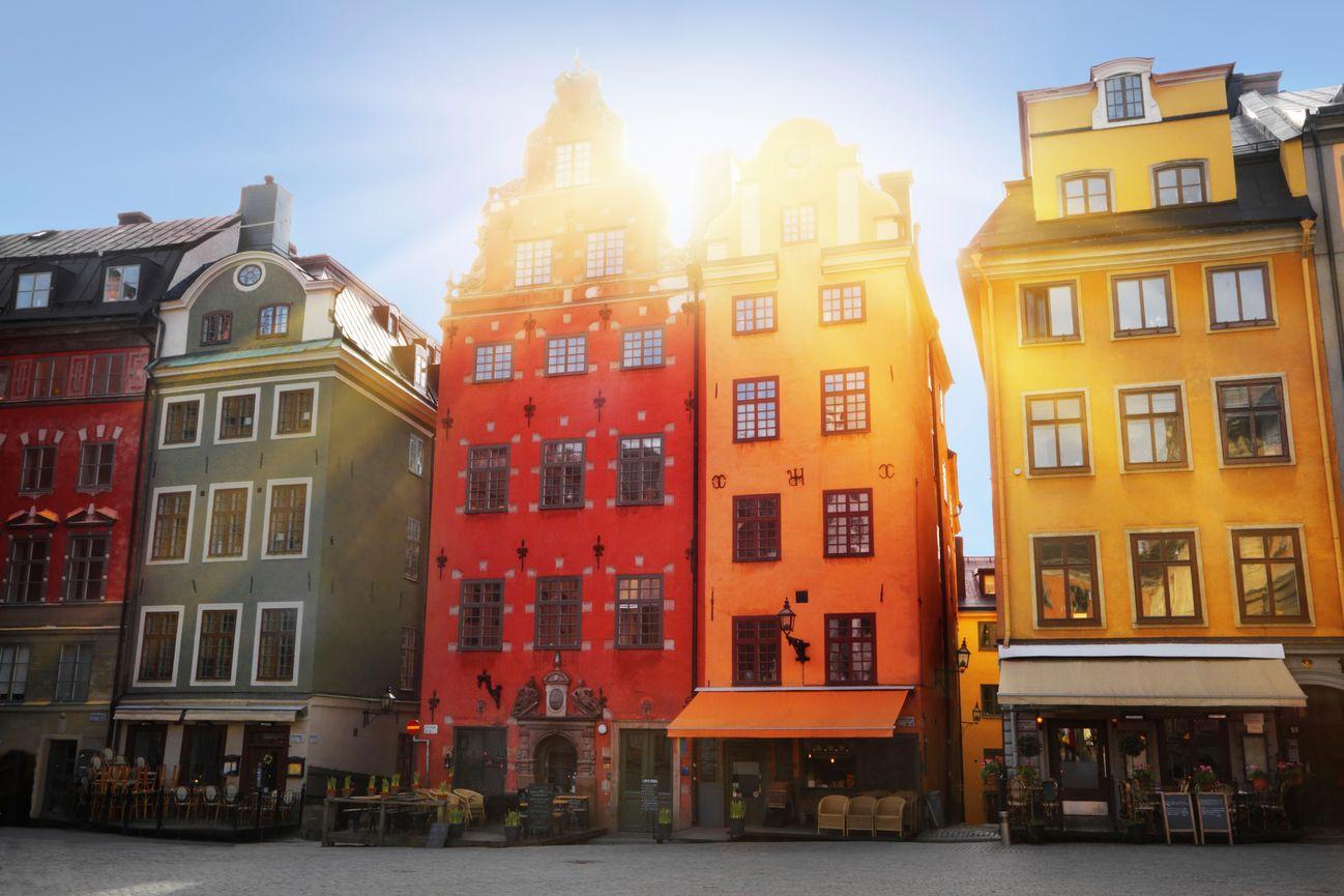 Стокгольм достопримечательности зимой
