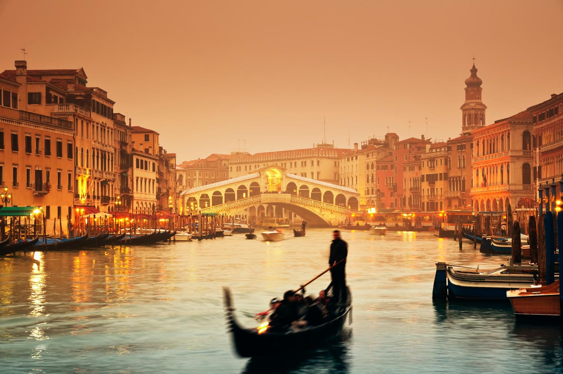 Romanttinen kaupunkiloma Venetsiassa