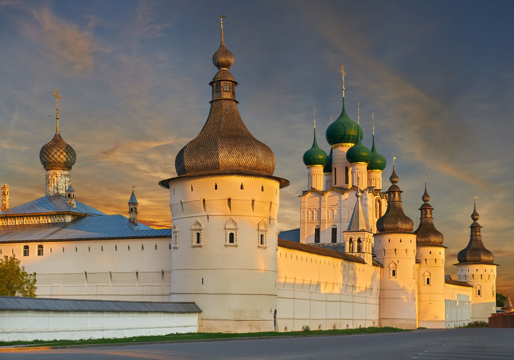 Ростовский кремль и другие красивые места Золотого кольца России