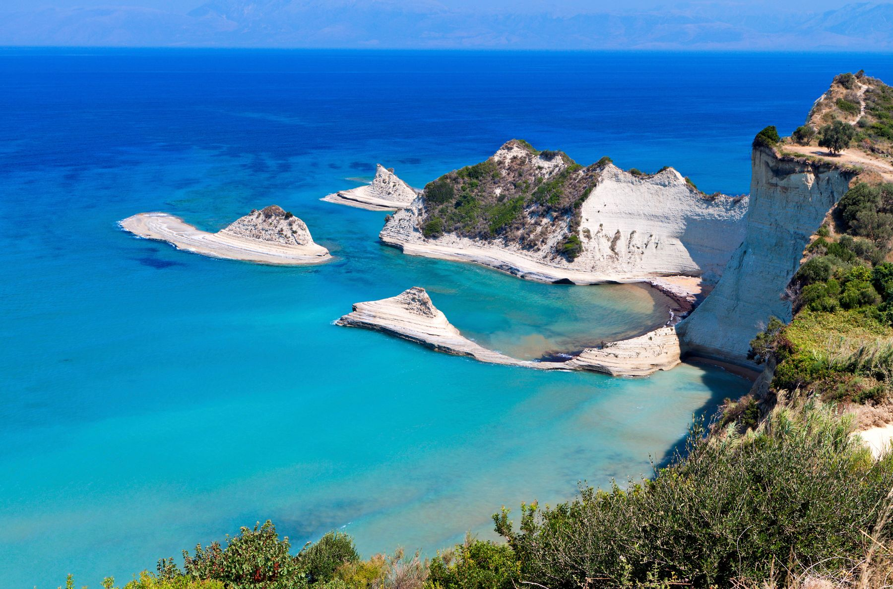 As 20 mais belas ilhas gregas: Corfu