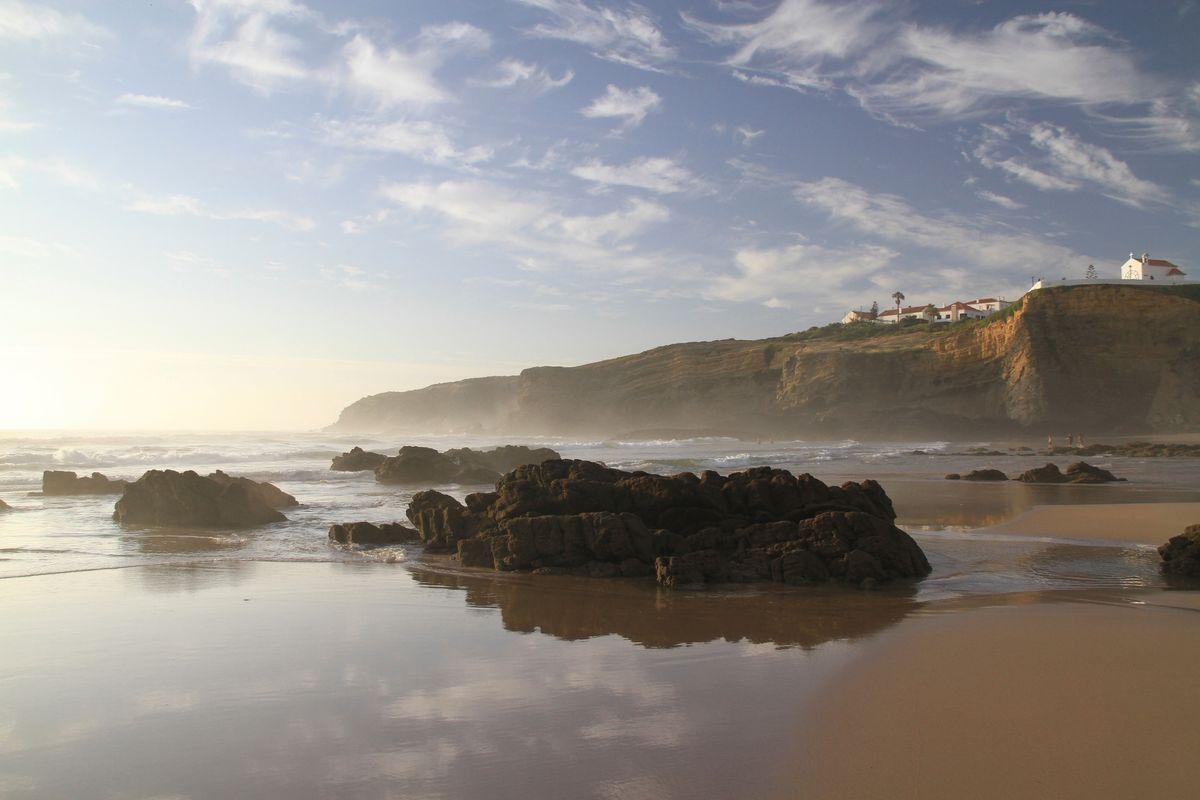 Portugal beaches don't come any prettier than Zambujeira do Mar