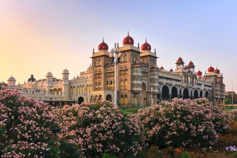 Το πολυτελές Παλάτι της Μυσόρης, Ινδία