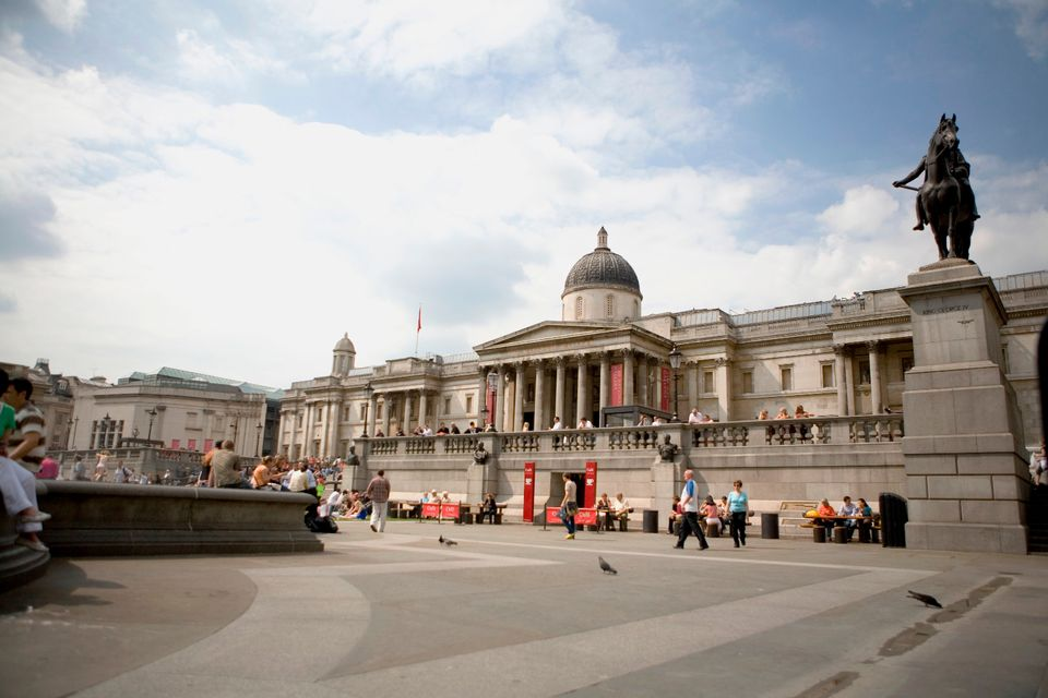 National Gallery in London exterior