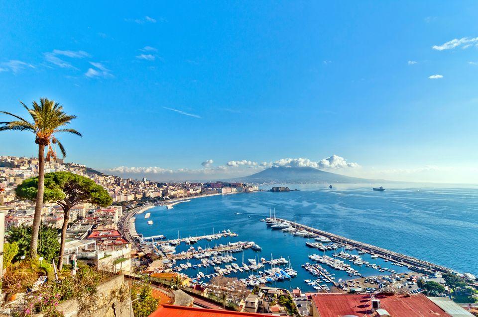 Naples in the sun