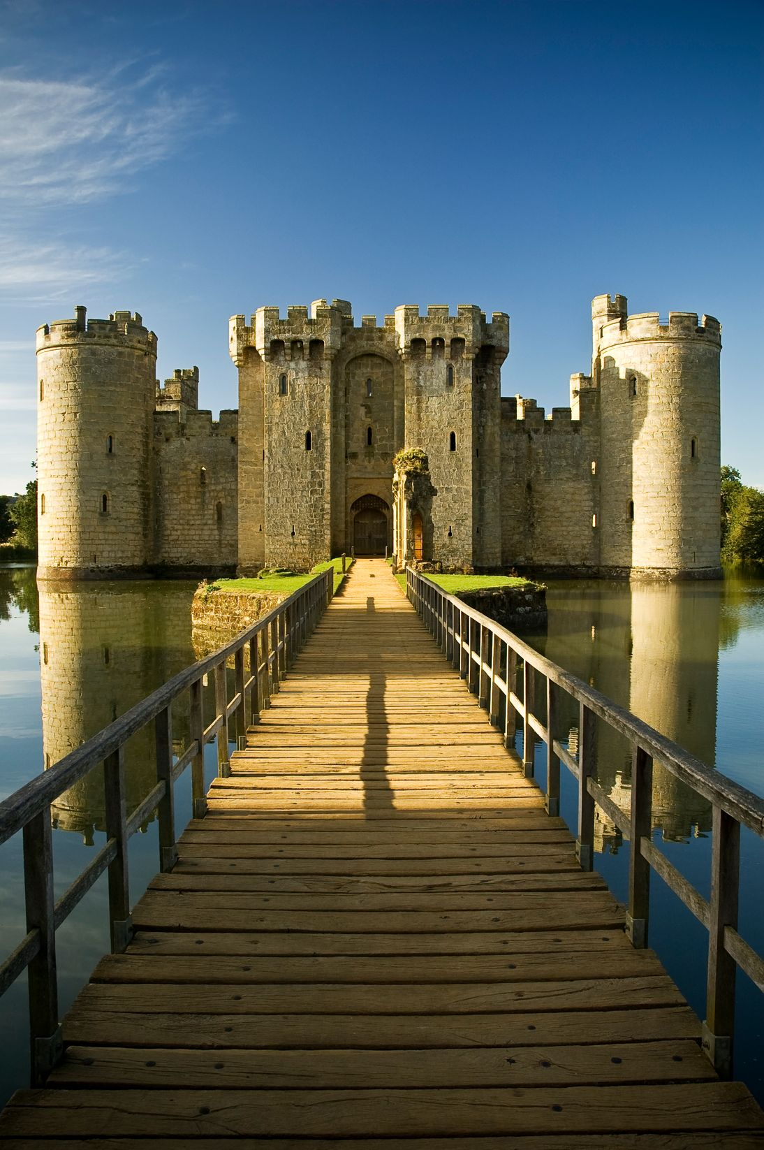 explore Bodiam Castle this summer bank holiday