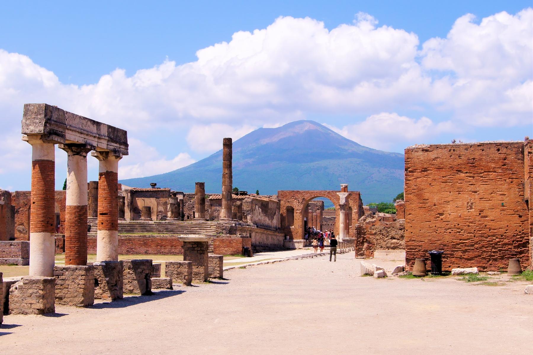 Lugares más bonitos de Italia: Pompeya