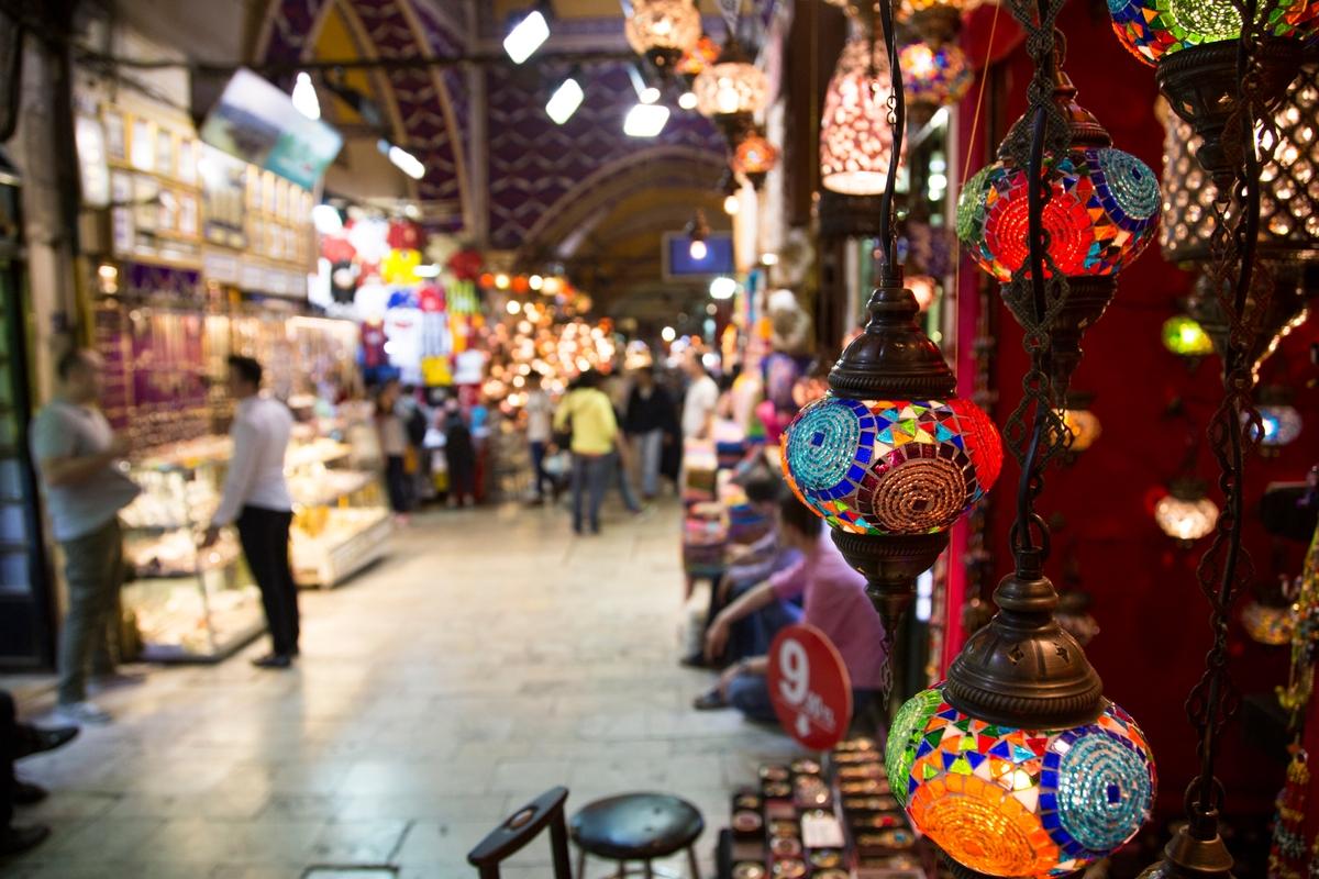 Best places to visit in Turkey: Grand Bazaar