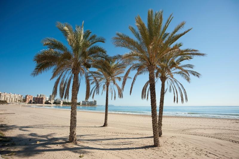 Playa de Postiguet Alicante