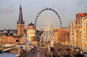 Burgplatz in Altstadt, one of Dusseldorf's top tourist attractions