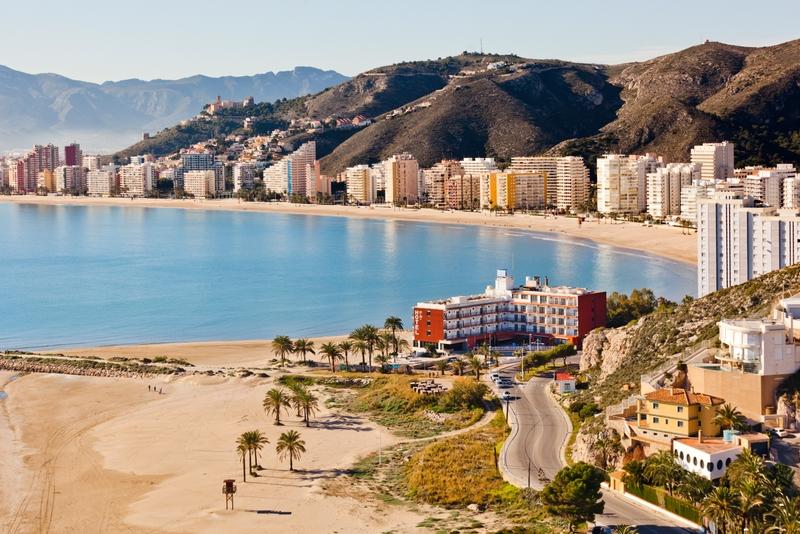 Spiaggia vicino a Valencia