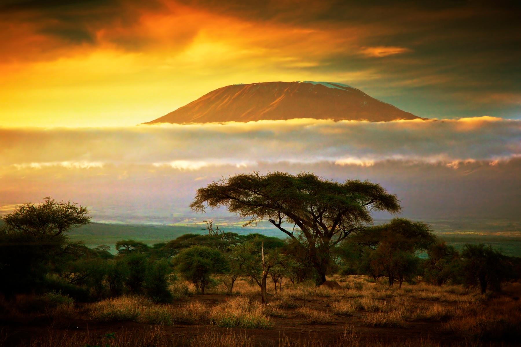 Erholung im Amboseli Nationalpark, Kenia