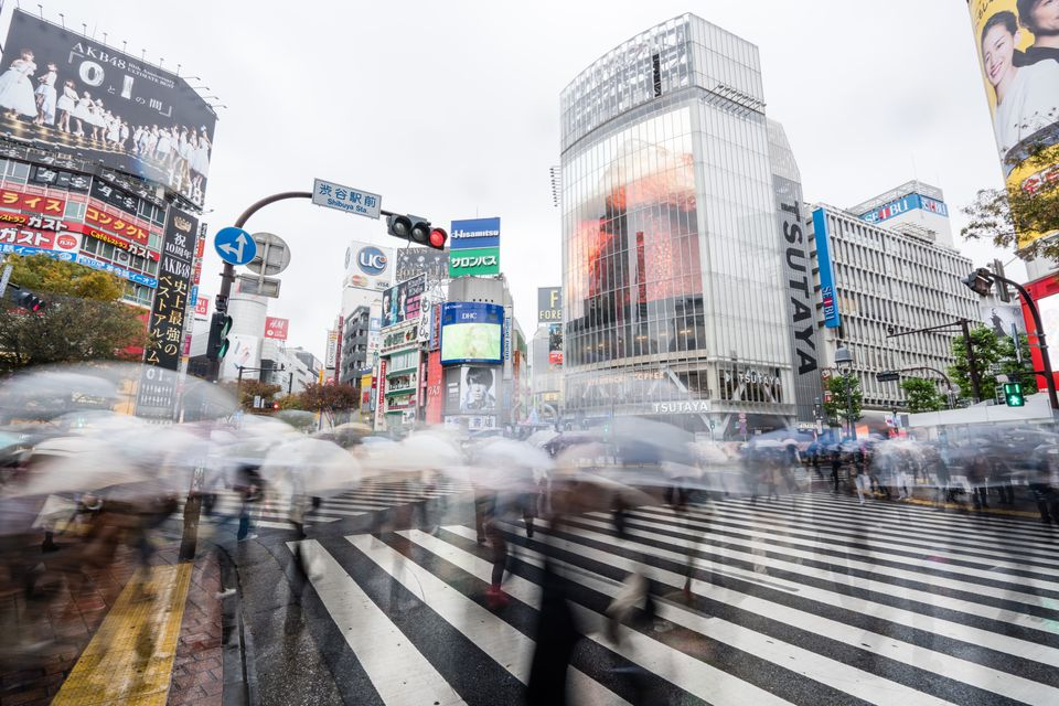 Shibuya crossing - best things to do in Tokyo