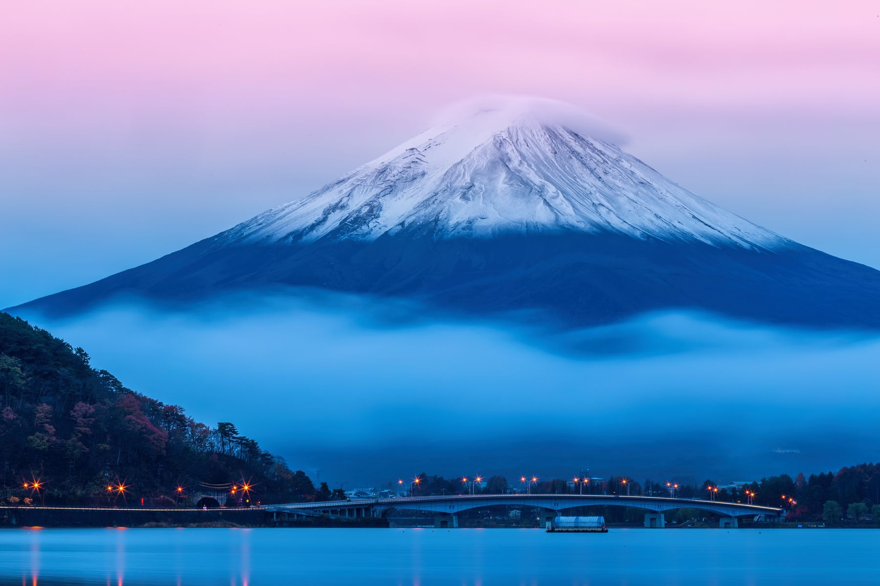 Mount Fuji, Japan - a country that has potential for joining the  Australia travel bubble