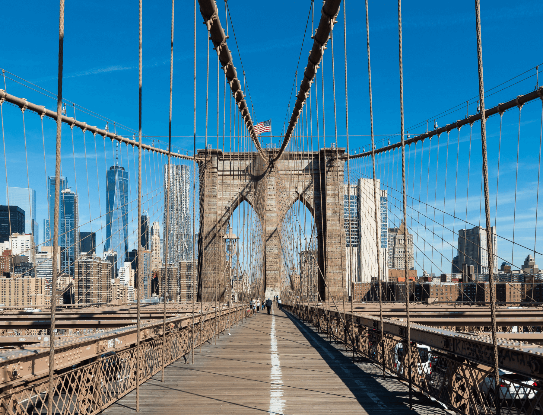 The Brooklyn Bridge in NYC -- one place where to considering going Memorial Day weekend