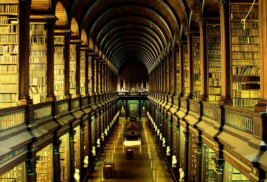 H ιστορική βιβλιοθήκη του Τrinity College στο Δουβλίνο πρωταγωνίστησε στον Χάρι Πότερ!