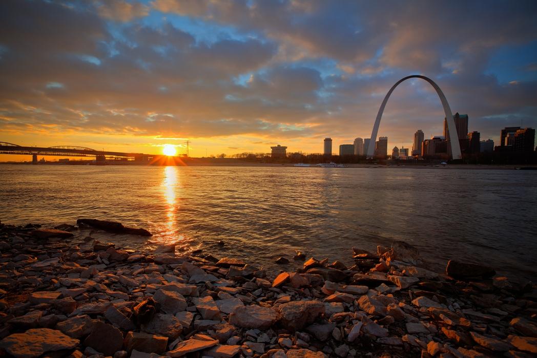 Saint Louis, EE. UU. En la carretera