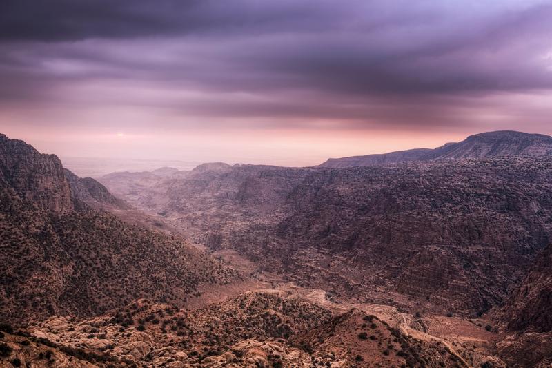 reserva de dana en jordania