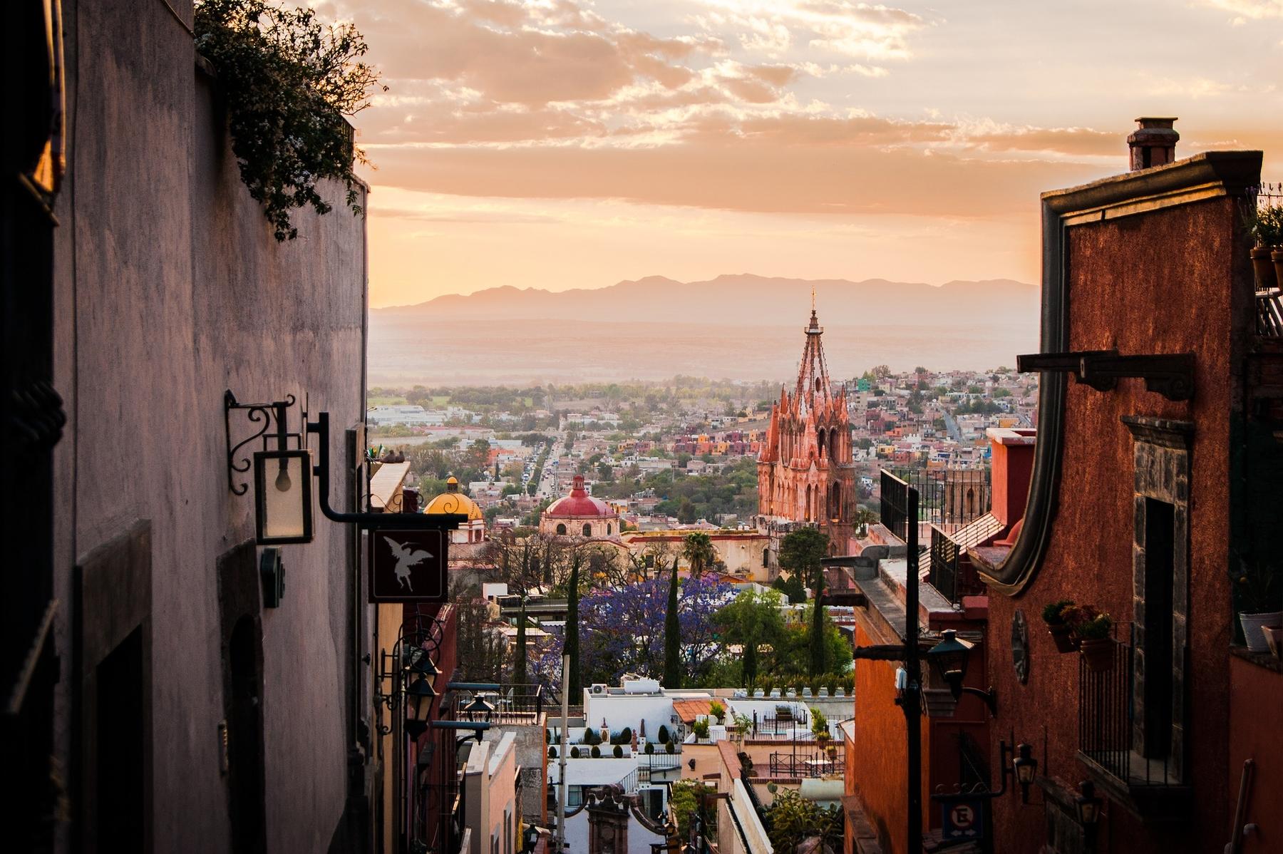 Viaggio a  lungo termine - San Miguel de Allende - Messico