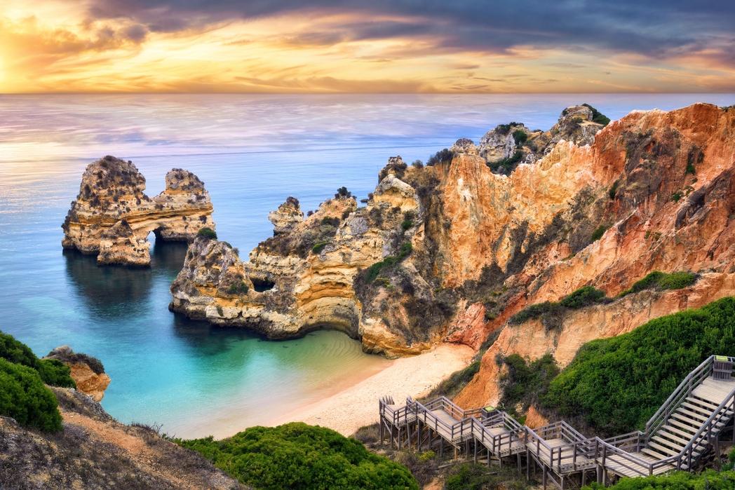 Algarve, Portogallo on the road