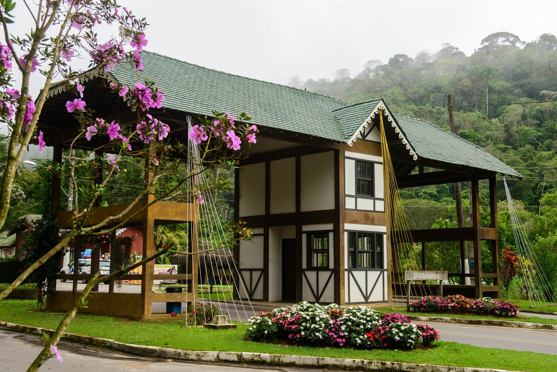 Portal de Domingos Martins, uma das cidades mais famosas das montanhas capixabas