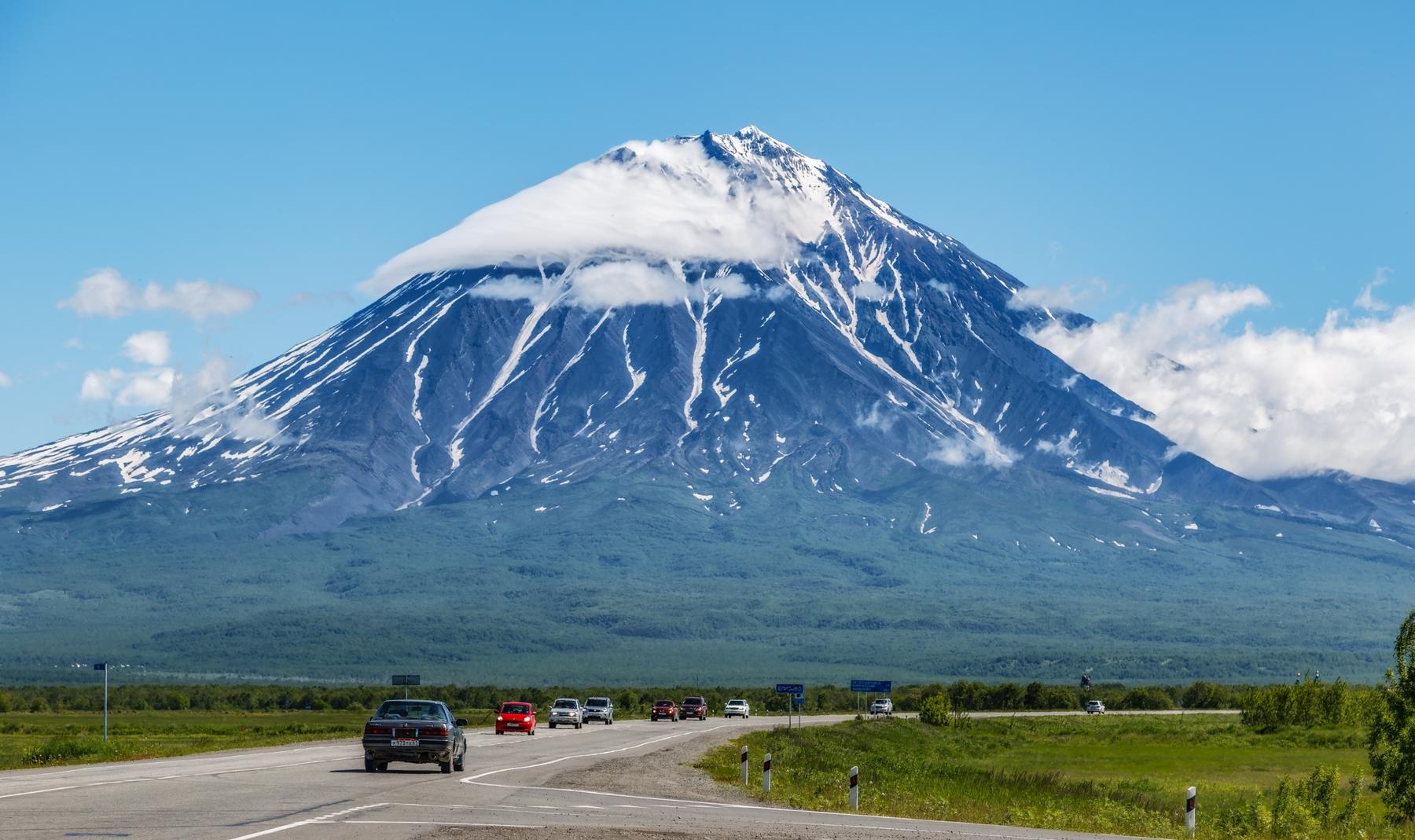 Природные достопримечательности Камчатки: вулкан Ключевской