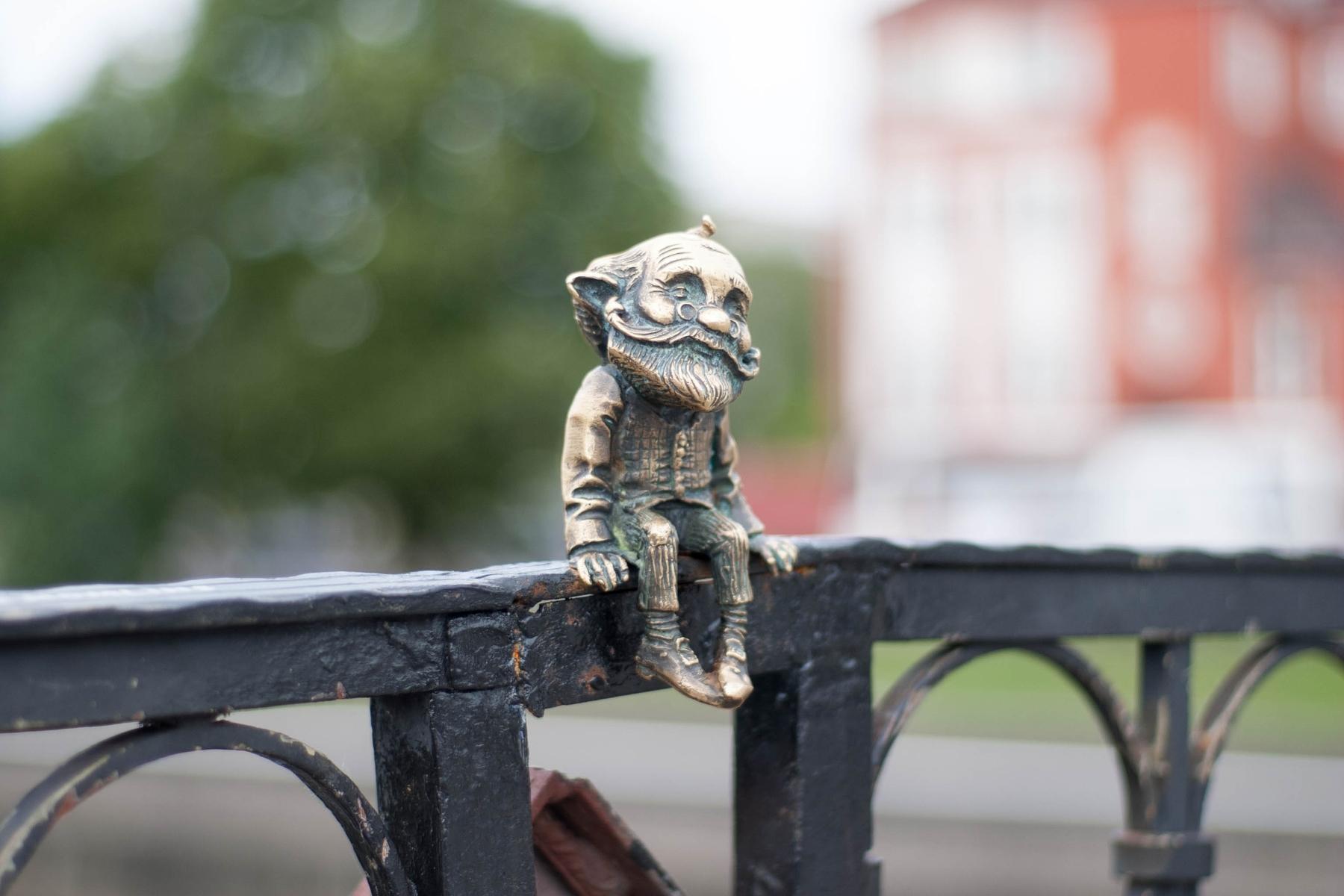 Что посмотреть в Калининграде и где находятся бронзовые гномы
