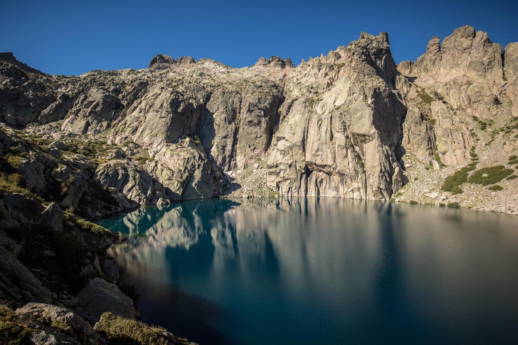 Le lac glaciaire de Capitello.