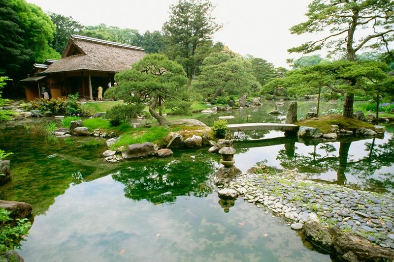 palacio katsura japon