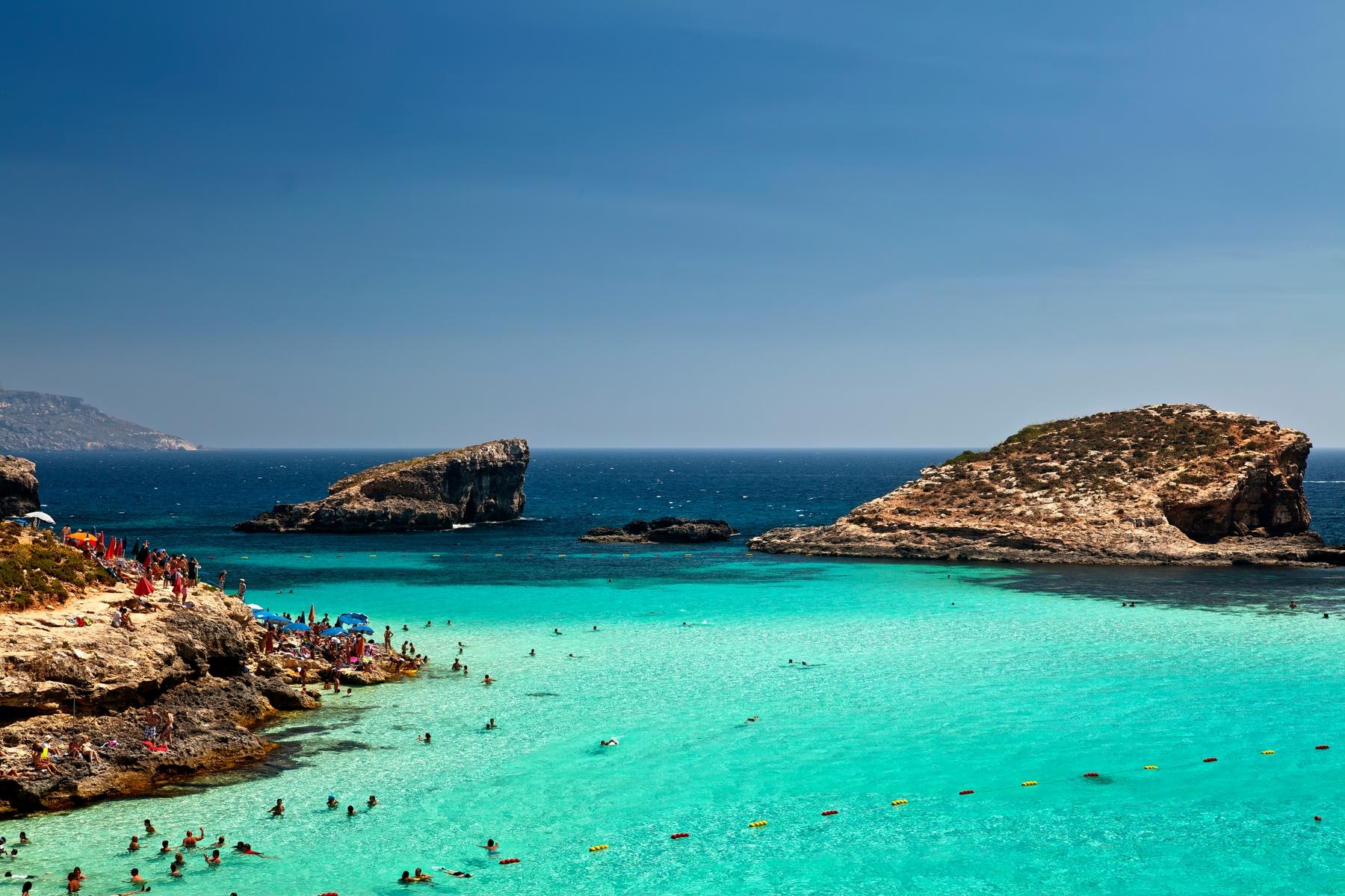 Malta Blue Lagoon in Comino