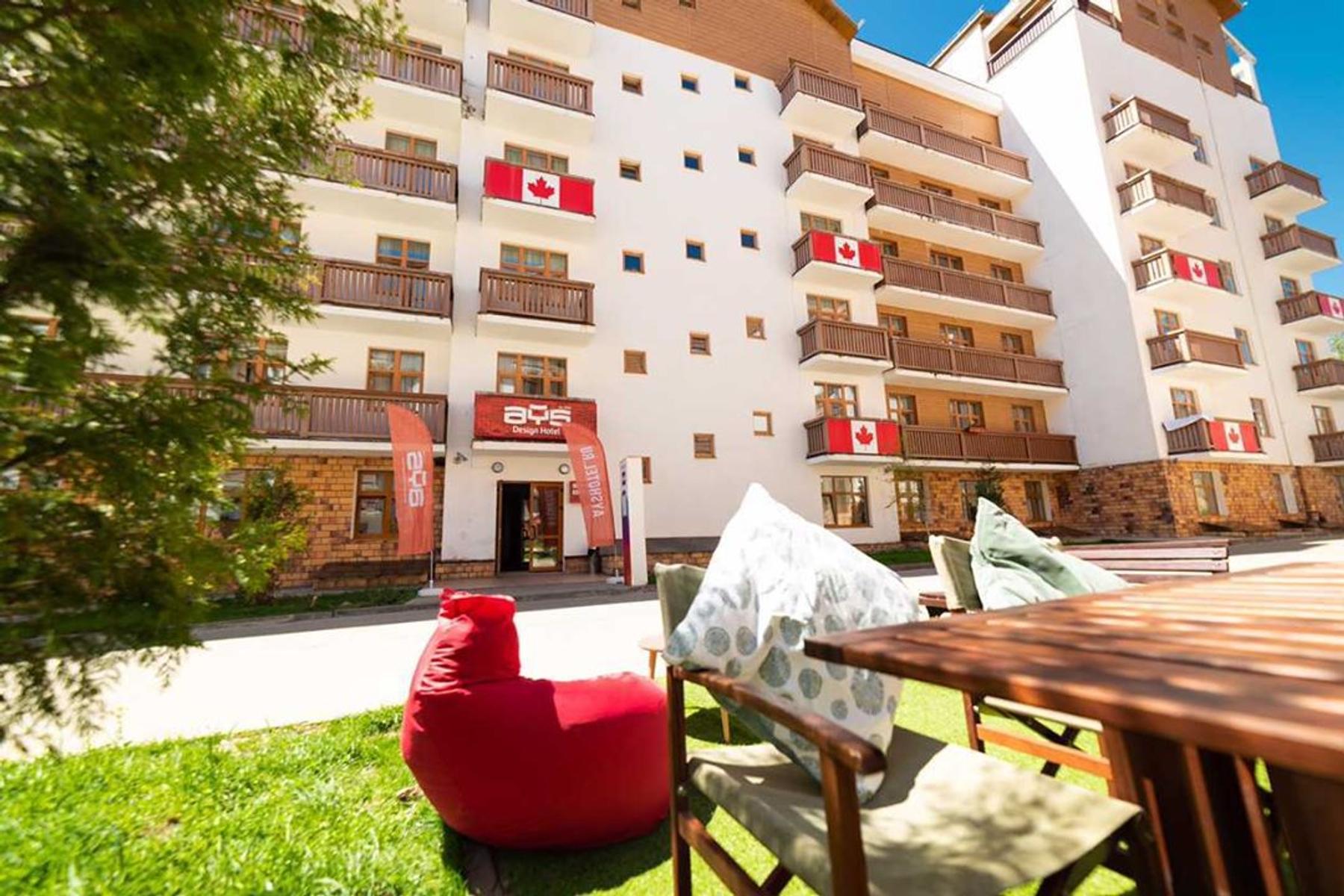 Где остановиться на курорте Роза-Хутор: хороший выбор для компании друзей — AYS Design Hotel