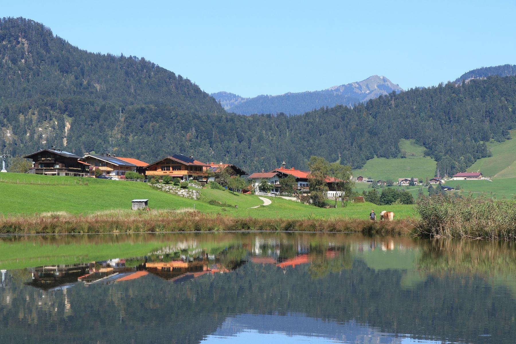 Mooie plaatsen Duitsland Reit im Winkl in Beieren