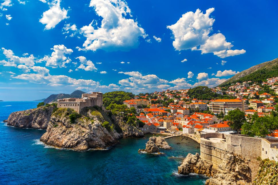 The walled city of Dubrovnik - one of the best Mediterranean destinations for summer 2019