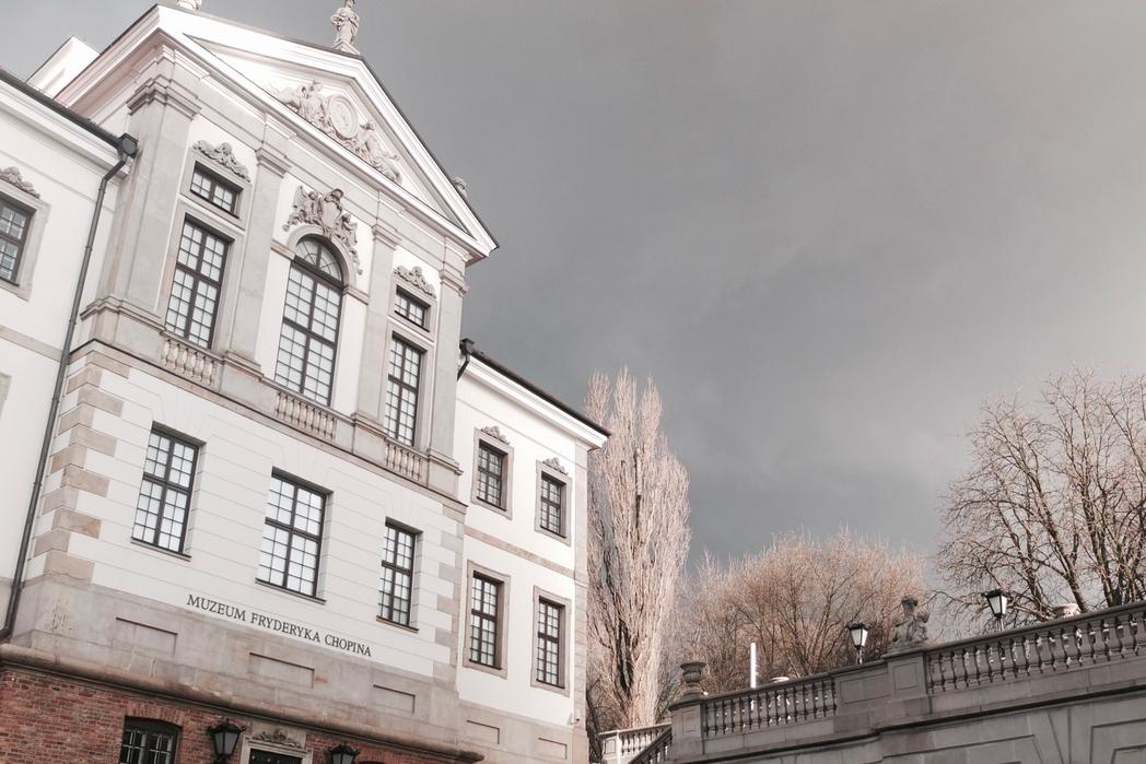 Πρόσοψη του Μουσείου Σοπέν