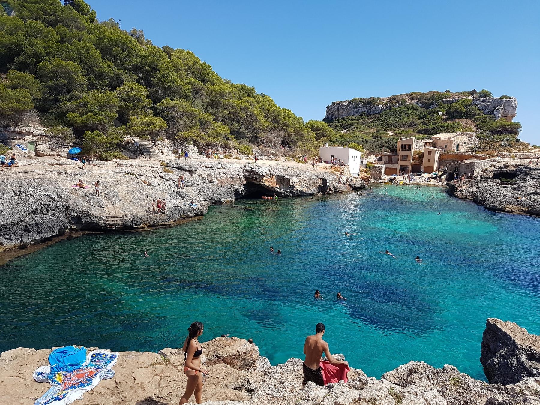 La oferta de calas y playas de Mallorca es tan extensa como apetecible
